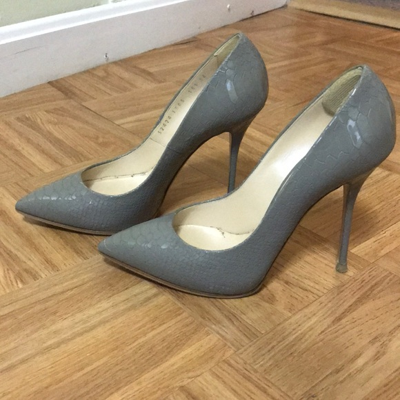 07b93ad62 Casadei Shoes - Casadei, size 6 N, gray, 4 inches heel.